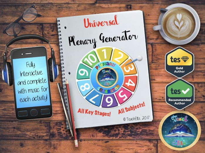 Back to School - Plenary Generator. FREE using code!