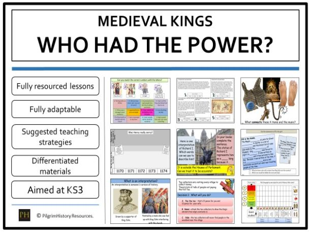 Medieval Kings - who had the power?