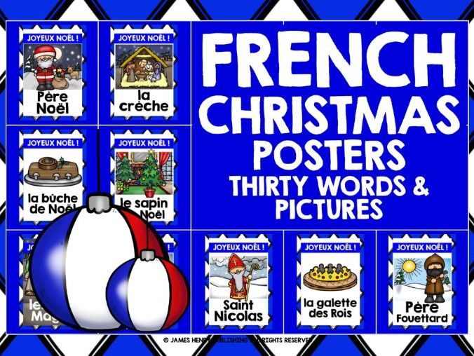 FRENCH CHRISTMAS POSTERS