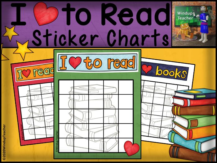 Reading Sticker Charts