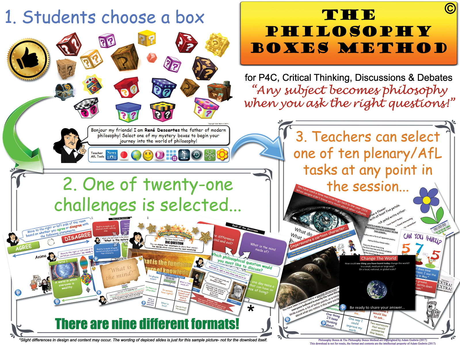 History - Philosophy for Children (P4C) Bundle