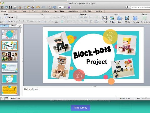 Blockbots Scheme of work, powerpoint, resources and homework tasks