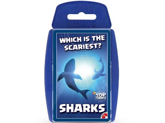 Sharks Official Top Trumps - Full Deck