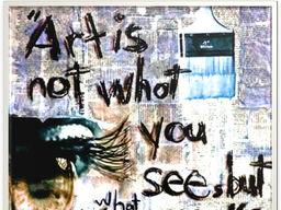 Edward Degas Quote Motivational ART Poster