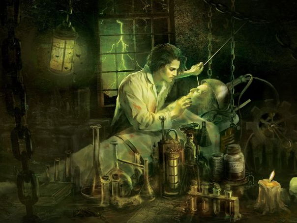 Frankenstein analysis and creative writing: chapter 5