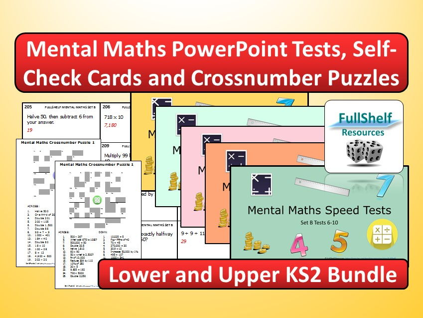 Mental Maths Bundle KS2