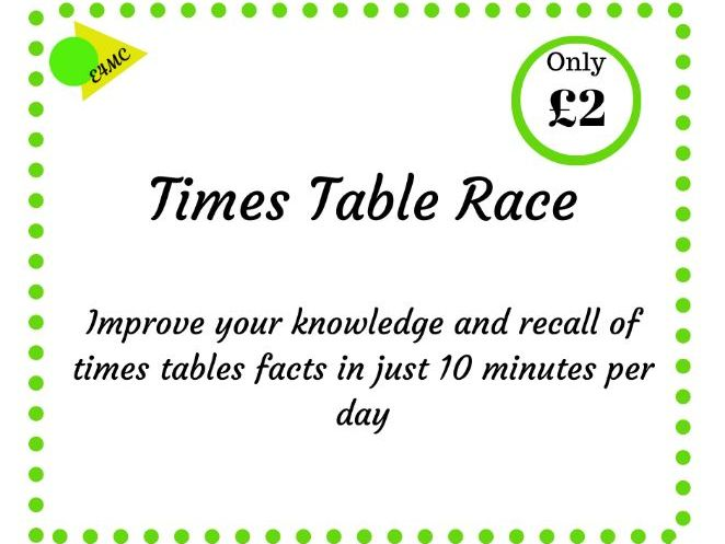 Times Tables Race
