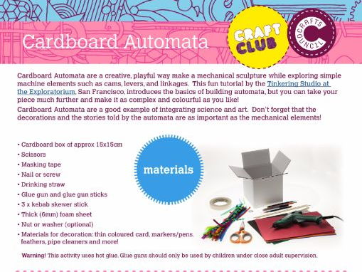 Cardboard Automata Tutorial