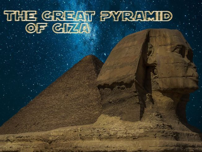 The Great Pyramid of Giza Audiobook & Classroom Activity