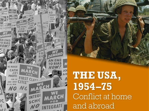 Vietnam War paper 3 Edexcel 9-1 GCSE History scheme of work and resources (USA at home and abroad)