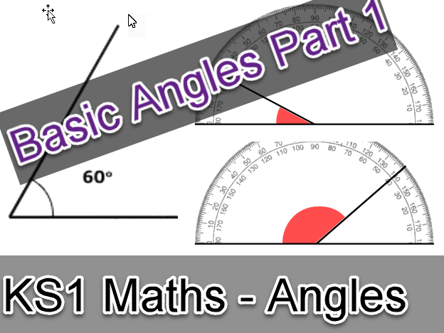 KS1 Maths Basic Angles Worksheet