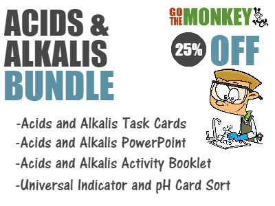 Acids, Alkalis and Indicators Bundle