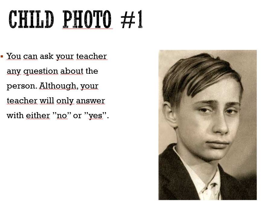 Young celebrities - asking the right questions...