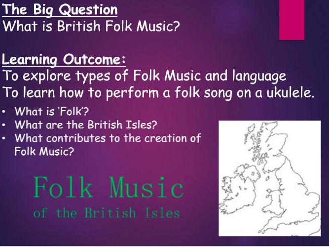 British Folk Music Ukulele SOW