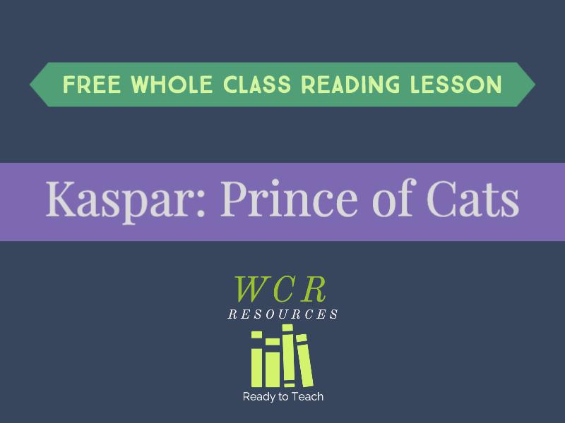 Free WCR lesson - Kaspar: Prince of Cats