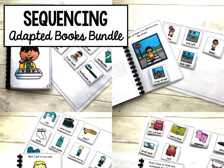 Sequencing Adapted Books Bundle