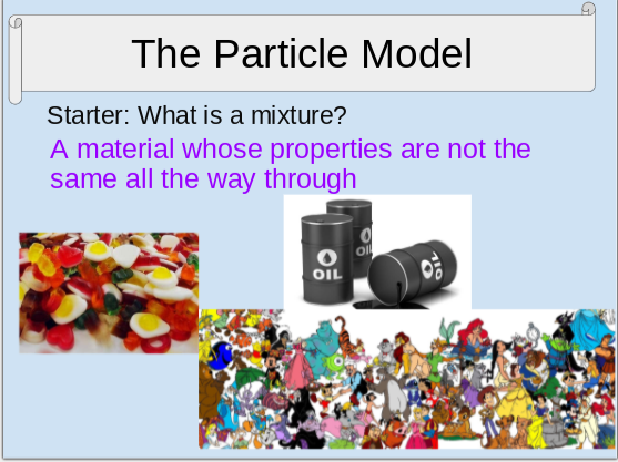 C1.1 The Particle Model Activate 1 KS3