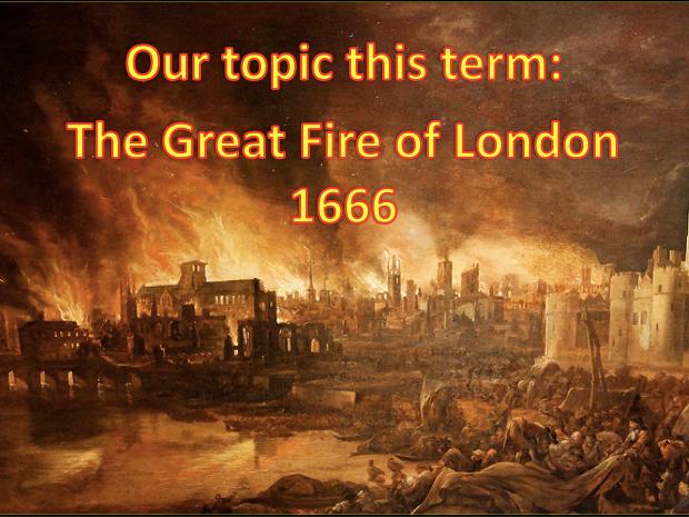 Great Fire of London - 1666 - medium term plan