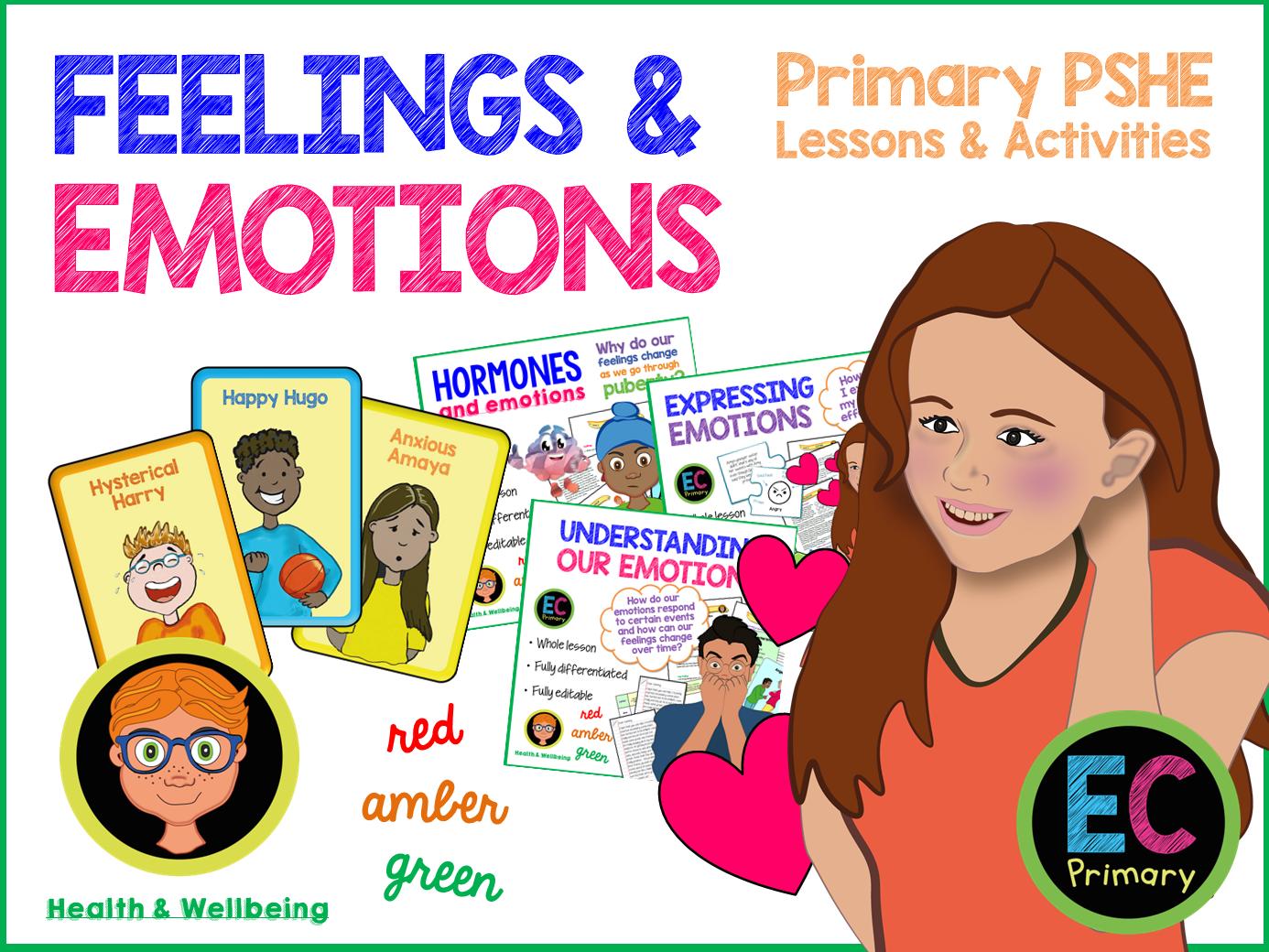 Emotions KS2 Primary PSHE