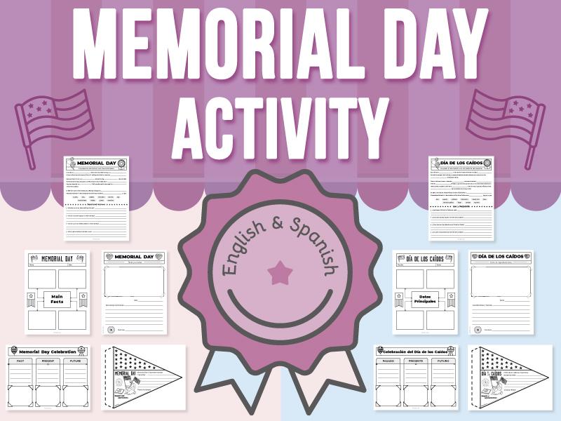 Memorial Day - Activities BUNDLE