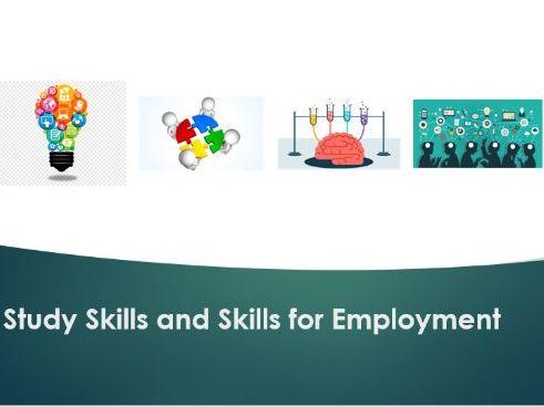 Study Skills and Skills for Employment