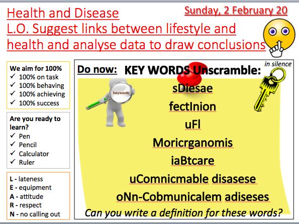 AQA B5 Communicable diseases