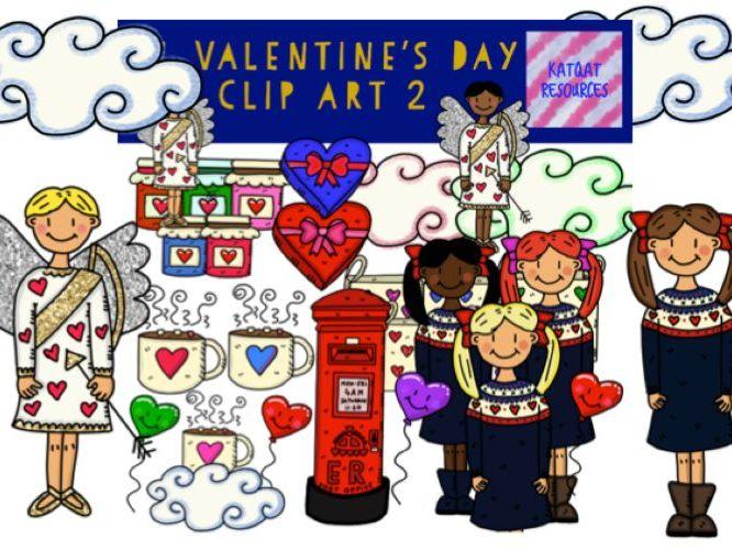 St Valentine's Day Clip Art 2
