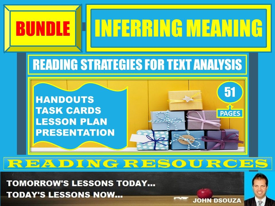 INFERRING MEANING BUNDLE