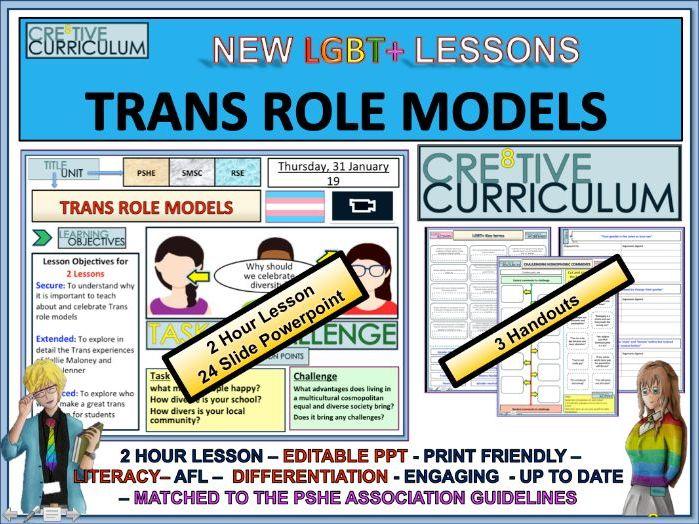 Trans Role Models - 2 Lessons RSE/C8/LS/01