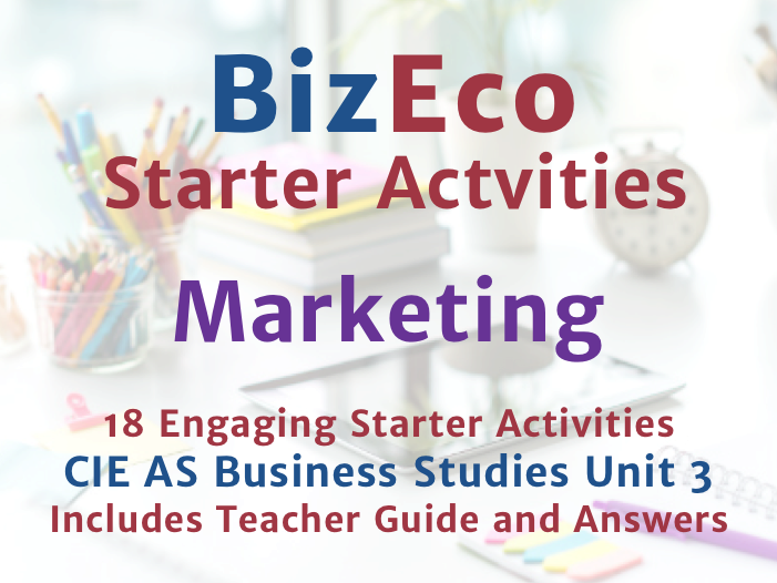 18 Engaging Marketing Activities - CIE AS Business Unit 3