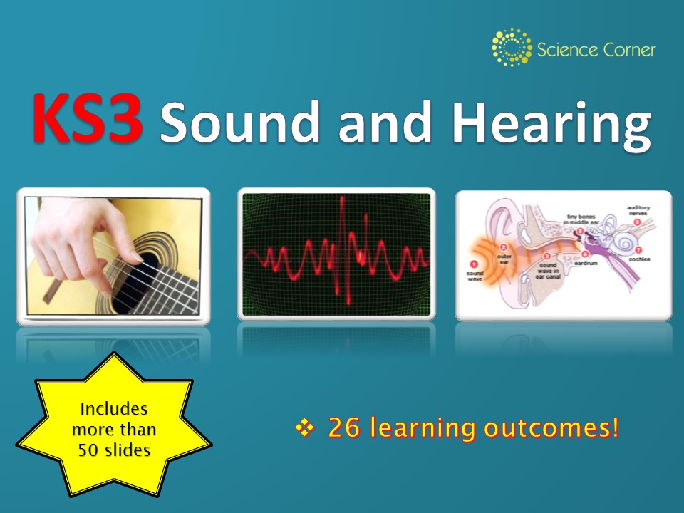 KS3 Physics - SOUND and HEARING Huge Resource Pack, waves, frequency, amplitude, ultrasound, the ear