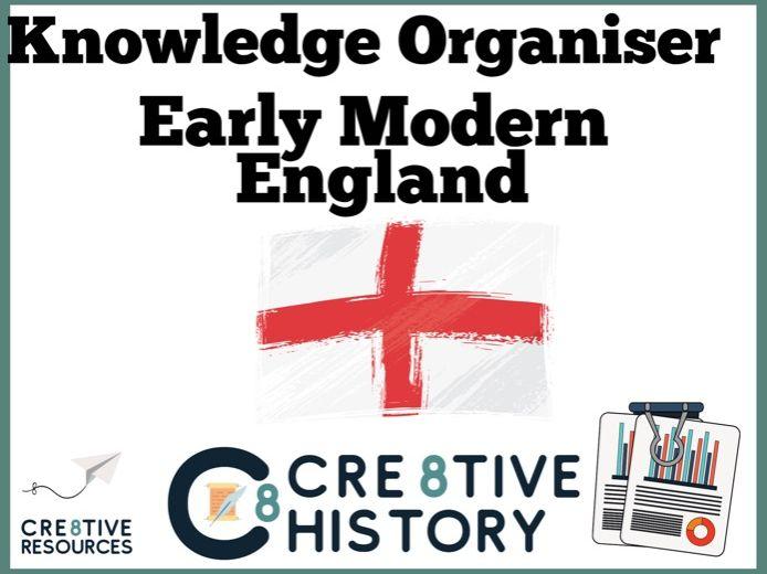 Early Modern Knowledge Organiser