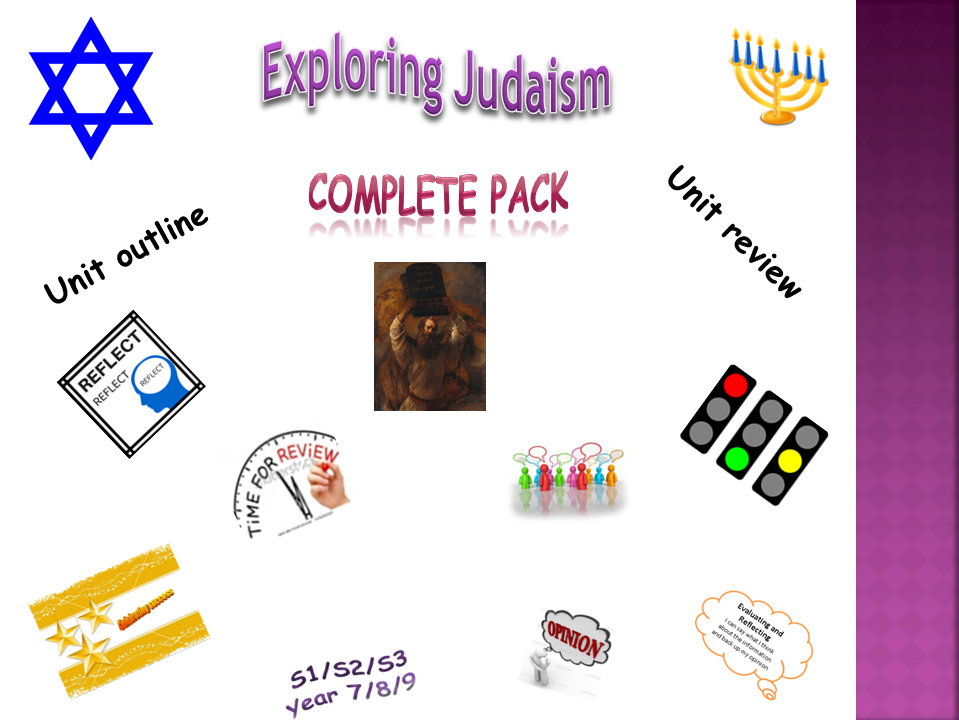 Exploring Judaism - complete pack