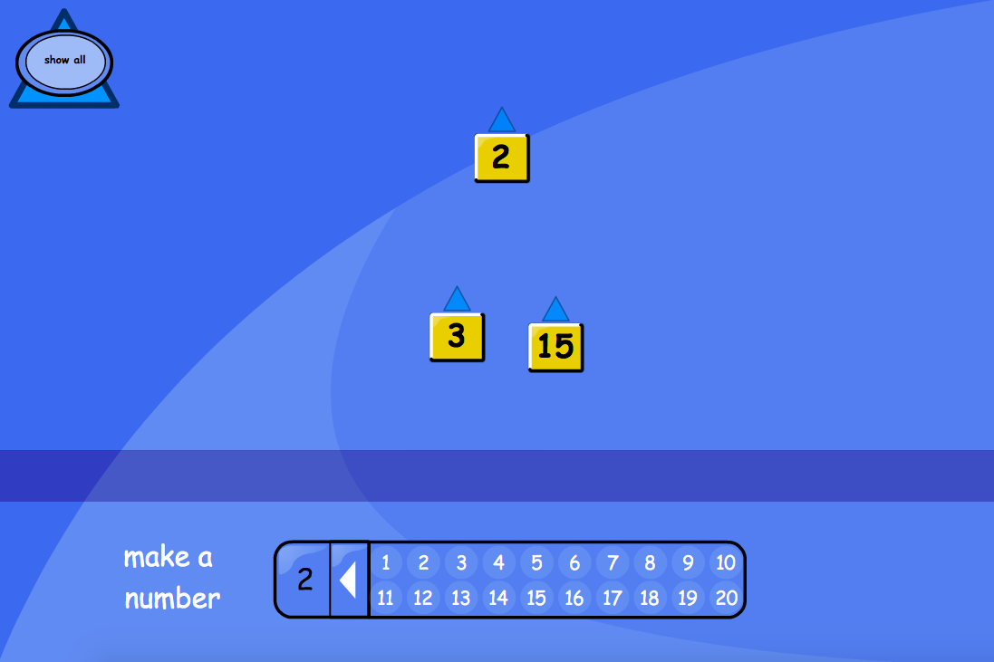 Number Line to 20 Interactive Tool - EYFS Number