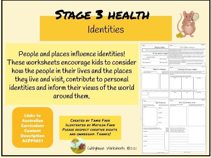 Stage 3 Health - Indentities