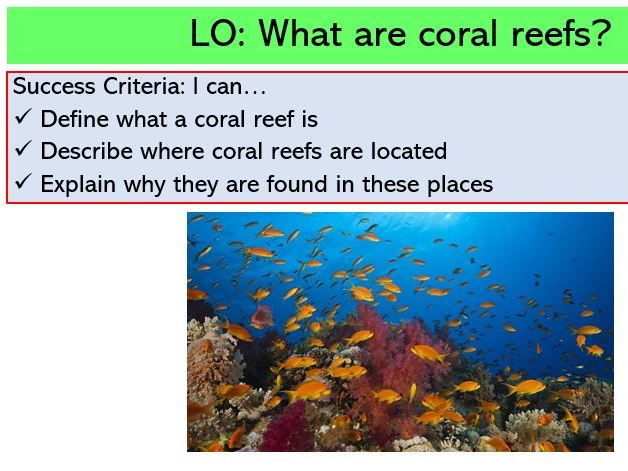L1. Introduction to Coral Reefs