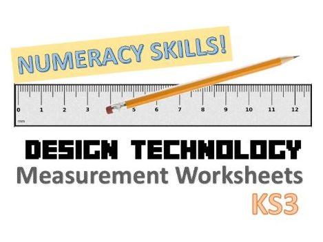KS3 Design Technology Measurements Tasks