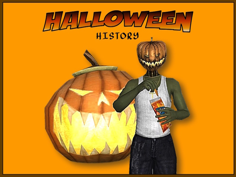 Halloween History - Graphic Reader and Video