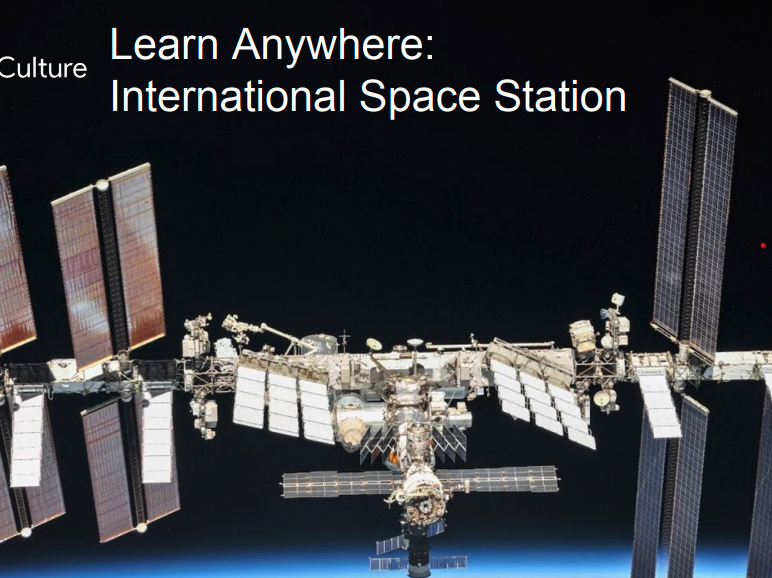International Space Station: Learn Anywhere #googlearts