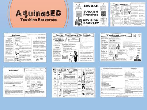 Judaism Practices Unit Info & Task Booklet EDUQAS