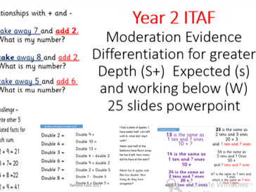 Year 2 Maths Greater Depth Fluency TAF gaps