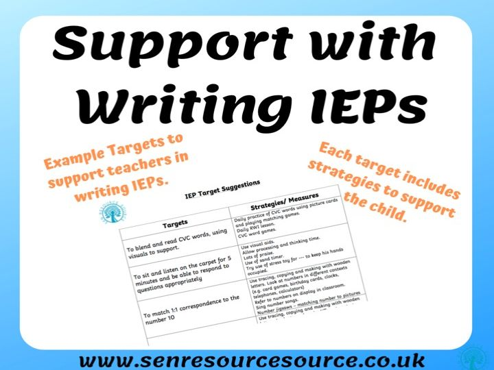 IEP Example Targets