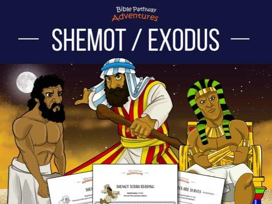 Shemot   Exodus: Torah Portion Activity Book