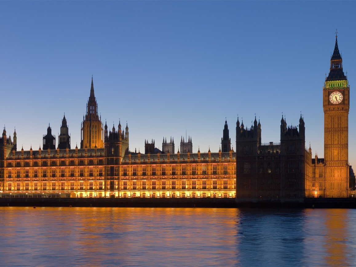 The UK Parliament. Houses of Commons and Lords.
