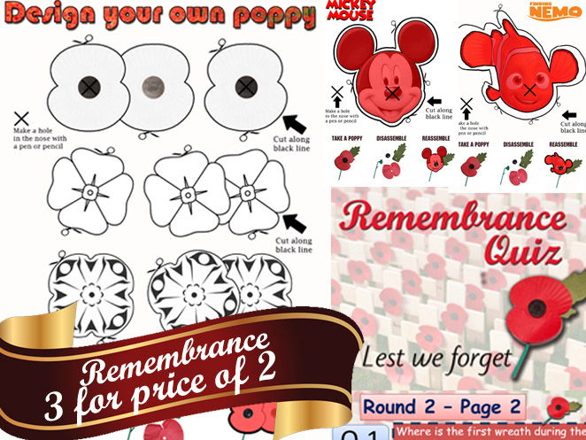Remembrance 2017 Bundle Total package