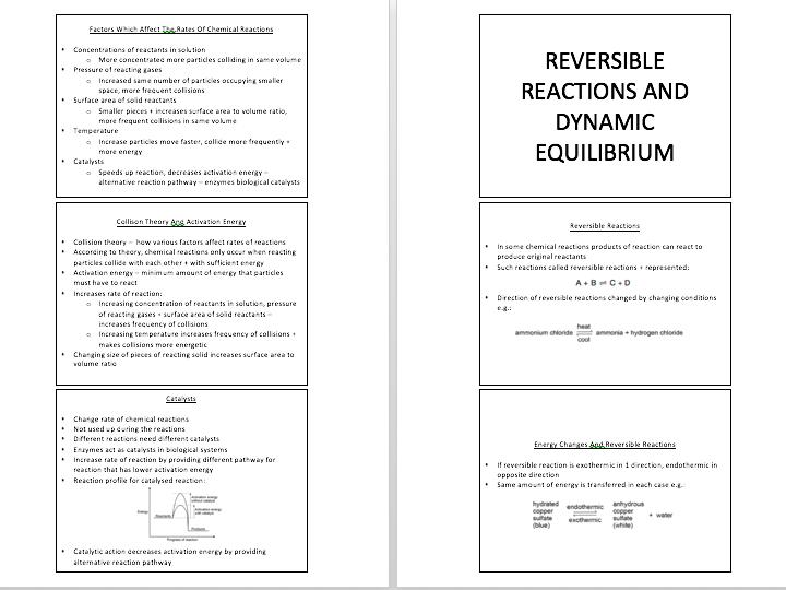 AQA GCSE TRIPLE SCIENCE: CHEMISTRY PAPER 2