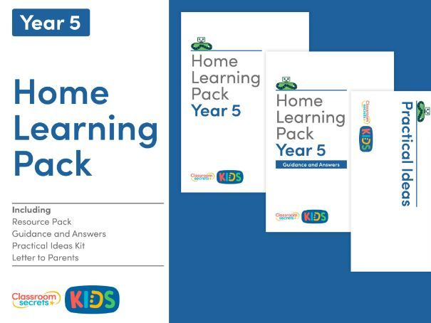 FREE Home Learning Pack for Year 5