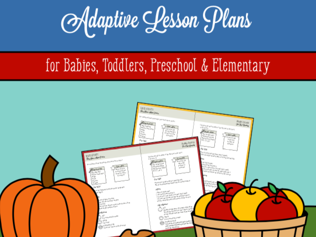Preschool Fall Activities and Plans