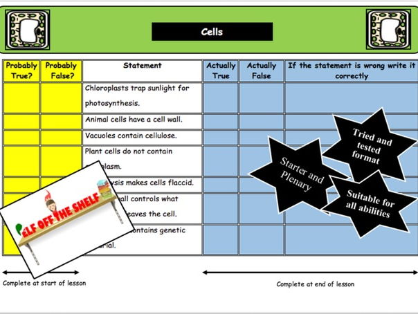 Cell Structure and the Differences Between Plant and Animal Cells KS4