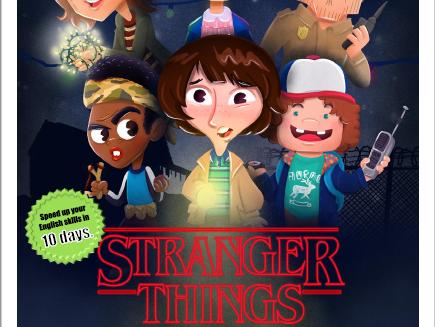 Stranger Things ESL Activites